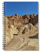 Golden Canyon's Red Cathedral Spiral Notebook