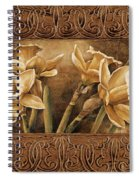 Golden Daffodils I    Spiral Notebook