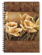 Golden Daffodils II    Spiral Notebook