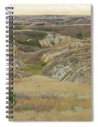 Golden Dakota Prairie Reverie Spiral Notebook