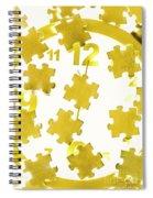Golden Gauge Spiral Notebook