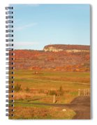 Golden Hour At River-to-ridge II Spiral Notebook