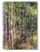 Golden Hour Serenity Spiral Notebook