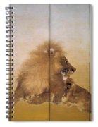 Golden Lion - Original Color Edition Spiral Notebook