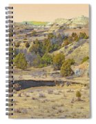 Golden Prairie Realm Reverie Spiral Notebook