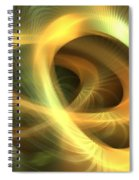 Golden Rings Spiral Notebook
