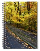 Golden Road Spiral Notebook