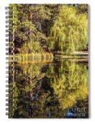 Golden Shevlin Park Spiral Notebook