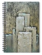 Golden Skyline IIi Spiral Notebook