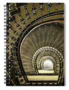 Golden Stairway Spiral Notebook