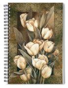 Golden Tulips    Spiral Notebook