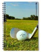 Golf Day Spiral Notebook