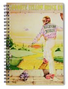Goodbye Yellow Brick Road Spiral Notebook