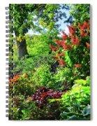 Gorgeous Gardens At Cornell University - Ithaca, New York Spiral Notebook
