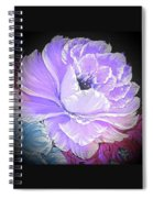 Gorgeous Rose In Purple  Spiral Notebook