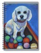 Gracie's Got Balls Spiral Notebook