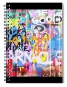 Graffitis Triptych Spiral Notebook