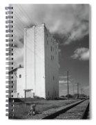 Grain Elevator, 2001 Spiral Notebook