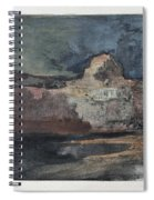 Grand Canyon In Stormy Weather, Arizona - Digital Remastered Edition Spiral Notebook