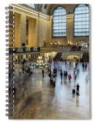 Grand Central Motion Spiral Notebook