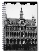 Grand Palace, Brussels Spiral Notebook