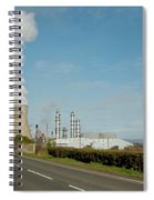 Grangemouth Petro-chemical Plant Spiral Notebook