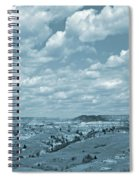 Grasslands Shadow Dance Spiral Notebook