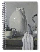 Gray Matters Spiral Notebook