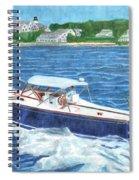 Great Ackpectations Nantucket Spiral Notebook