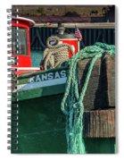 Great Lakes Towing Tug Kansas Spiral Notebook