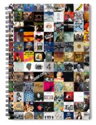 Greatest Rock Albums Of All Time Spiral Notebook