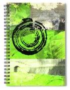 Green Balance No. 4 Spiral Notebook