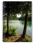 Green Lake, Ny Spiral Notebook