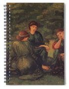 Green Summer 1868 Spiral Notebook