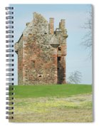 Greenknowe Tower Ruin Spiral Notebook