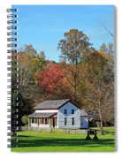 Gregg Cable House In Cades Cove Historic Area Of The Smoky Mountains Spiral Notebook