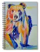 Grizzly Sprint  Spiral Notebook