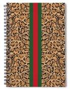 Gucci Leopard Print-1 Spiral Notebook
