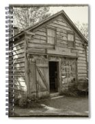 H. Brooks - Cabinet And Chair Maker -workshop Spiral Notebook