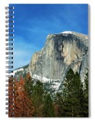 Half Dome, Yosemite National Park Spiral Notebook
