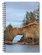 Halibut Cove Rock Formation Kenai Peninsula Alaska Spiral Notebook