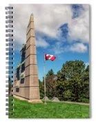 Halifax Explosion Memorial Bell Tower Spiral Notebook
