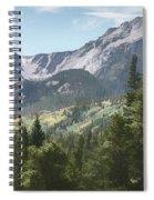 Hallett Peak Colorado Spiral Notebook