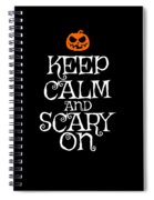 Halloween Costume Funny Apparel Spiral Notebook