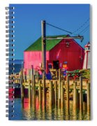 Halls Harbour Nova Scotia Spiral Notebook