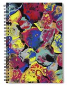 Hammer Flowers Spiral Notebook
