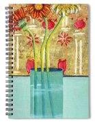 Indian Hand Painted Palace Wall Spiral Notebook