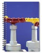 Hand Wheels For Industrial Valves Spiral Notebook