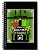 Happy Kwanzaa Spiral Notebook