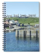 harbour at St. Abbs, Berwickshire Spiral Notebook